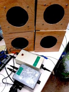 DIY Quadrophonic soundsystem 1 170314
