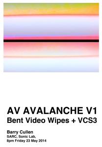 AV Avalanche V1 poster A5 1